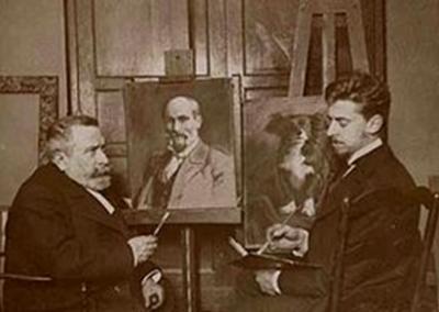 Paul Jouve, artiste animalier voyageur