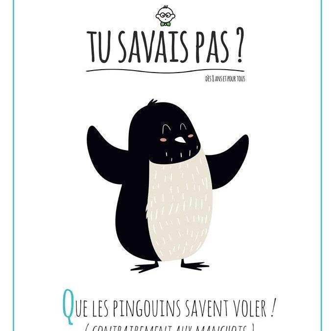 TU SAVAIS PAS ? n°18 Que les pingouins savent voler !
