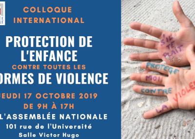 Colloque « Protection de l'enfance contre toutes les formes de violence »