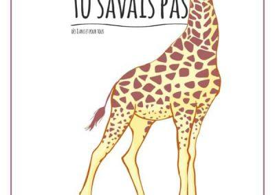 TU SAVAIS PAS ? n°29 Que la girafe est le plus grand animal terrestre !