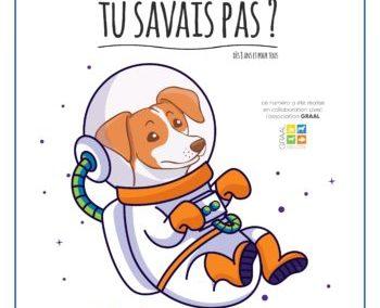 TU SAVAIS PAS? n°36 Que l'Homme a envoyé des animaux dans l'espace !